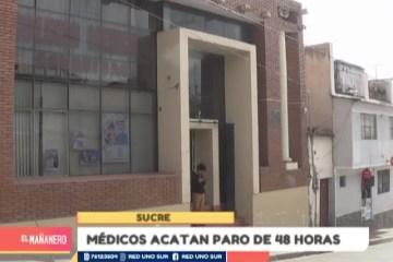 MÉDICOS ACATAN PARO DE 48 HORAS