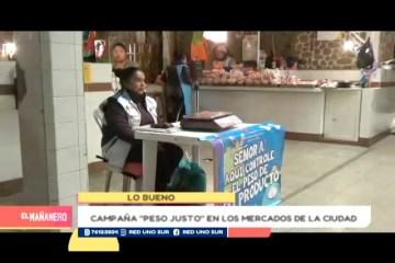 LO BUENO: PESO JUSTO EN LOS MERCADOS