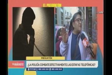 EL PREGUNTÓN: ESTAFAS TELEFÓNICAS