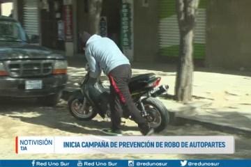 INICIA CAMPAÑA DE PREVENCIÓN DE ROBO DE AUTO PARTES