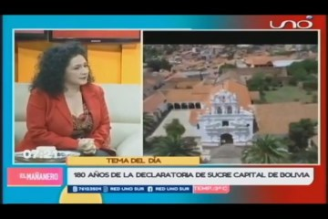 TEMA DEL DÍA: SUCRE, CAPITAL DE BOLIVIA
