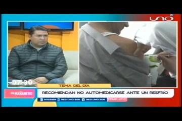 TEMA DEL DÍA: CASOS DE INFLUENZA EN CHUQUISACA