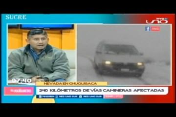 ENTREVISTA: REPORTE DE LAS VÍAS CAMINERAS
