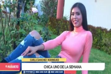 CHICA UNO TARIJA: CARLA SÁNCHEZ RODRÍGUEZ