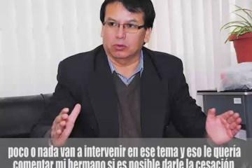 AUDIO REVELA PRESIÓN DE CONSEJERO DE LA MAGISTRATURA CONTRA JUEZ