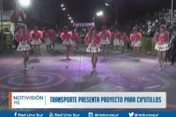 TRANSPORTE PRESENTA UN PLAN PARA CH'UTILLOS