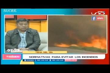 TEMA DEL DÍA: INCENDIOS A CAUSA DE LOS CHAQUEOS