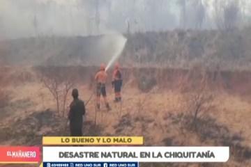 LO MALO: DESASTRE AMBIENTAL EN BOLIVIA