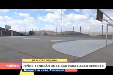 REALIDAD URBANA: COMPLEJO DEPORTIVO EN EL BARRIO SAN RAFAEL