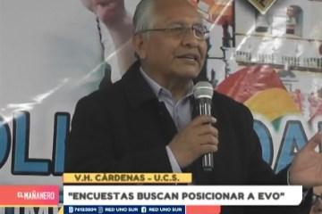 """""""ENCUESTAS BUSCAN POSICIONAR A EVO"""""""