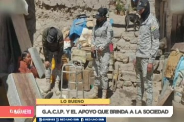 LO BUENO: GACIP Y EL APOYO QUE BRINDA A LA SOCIEDAD