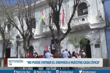 """""""NO PUEDE ENTRAR EL ENEMIGO A NUESTRA CASA CÍVICA"""""""