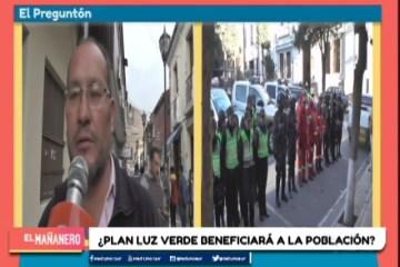 """EL PREGUNTÓN: PLAN """"LUZ VERDE"""" DE LA POLICÍA"""