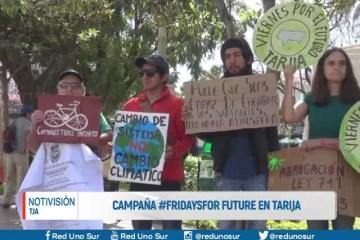 CAMPAÑA #FREDAYSFOR FUTURE TARIJA