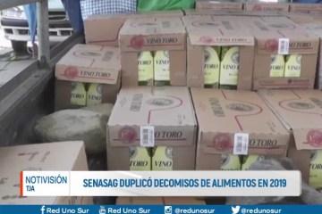 EL SENASAG DUPLICÓ DECOMISOS DE ALIMENTOS EN 2019