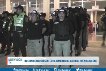 INICIAN CONTROLES DE CUMPLIMIENTO DE AUTO DE BUEN GOBIERNO