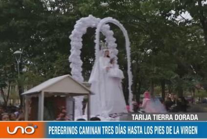 TARIJA TIERRA DORADA: FIESTA DE GUADALUPE