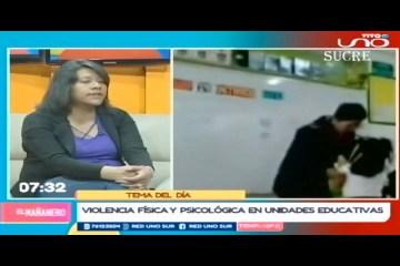 TEMA DEL DÍA: VIOLENCIA FÍSICA Y PSICOLÓGICA