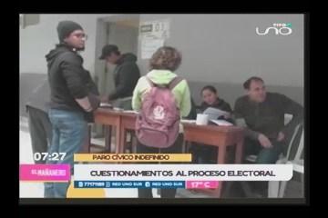 ANÁLISIS DE LOS CONFLICTOS POST ELECCIONES