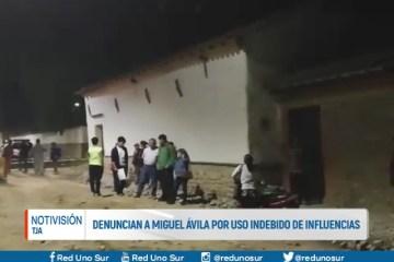 DENUNCIAN A MIGUEL ÁVILA POR USO INDEBIDO DE INFLUENCIAS