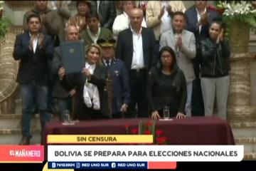 BOLIVIA SE PREPARA PARA NUEVAS ELECCIONES NACIONALES