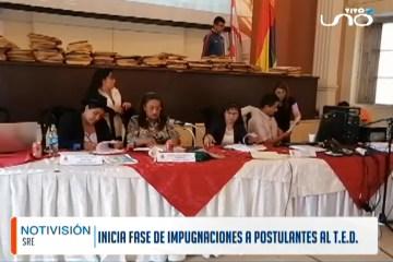 INICIA FASE DE IMPUGNACIONES A POSTULANTES AL TED
