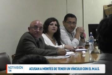 ACUSAN A MONTES DE TENER UN VÍNCULO CON EL MAS