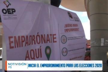 INICIA EL PROCESO DE EMPADRONAMIENTO PARA LAS ELECCIONES