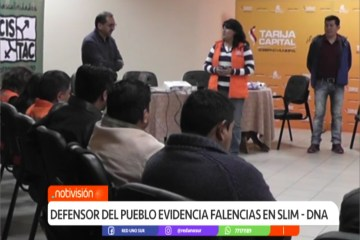 DEFENSOR DEL PUEBLO EVIDENCIA FALENCIAS EN SLIM – DNA
