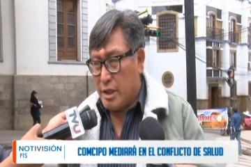 COMCIPO MEDIARÁ EN EL CONFLICTO DE SALUD