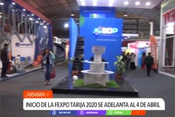 INICIO DE LA FEXPO TARIJA 2020 SE ADELANTA AL 4 DE ABRIL
