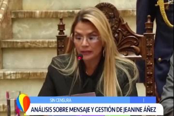 SIN CENSURA: ANÁLISIS SOBRE EL MENSAJE Y LA GESTIÓN DE JEANINE ÁÑEZ