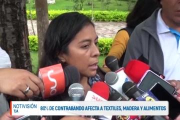 MICROEMPRESARIOS SEÑALAN QUE EL CONTRABANDO AFECTA A TEXILES, MADERA Y ALIMENTOS