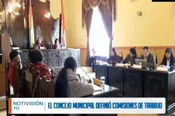 EL CONSEJO MUNICIPAL DEFINIÓ COMISIONES DE TRABAJO