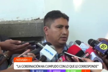 """GOBERNACIÓN: """"LA GOBERNACIÓN HA CUMPLIDO CON LO QUE LE CORRESPONDE"""""""