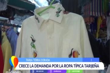 TIERRA DORADA: CRECE LA TRADICIÓN DE VESTIR LA ROPA CHAPACA
