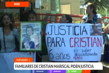 FAMILIARES DE CRISTIAN MARISCAL PIDEN JUSTICIA