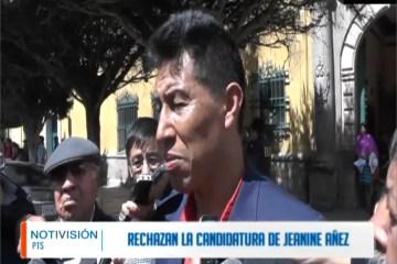 SENADOR RECHAZA LA CANDIDATURA DE JEANINE ÁÑEZ
