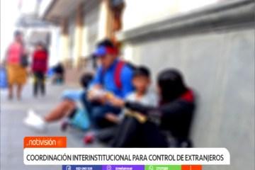 POBLACIÓN PREOCUPADA POR EL AUMENTO DE EXTRANJEROS EN LAS CALLES