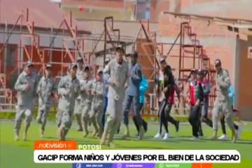 GACIP FORMA NIÑOS Y JÓVENES POR EL BIEN DE LA SOCIEDAD