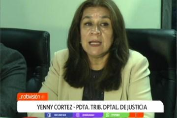 YENNY CORTEZ ES LA NUEVA PRESIDENTA DEL TDJ