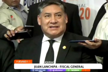 FISCAL GENERAL DESCONOCE DENUNCIAS EN SU CONTRA