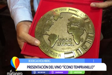 """PRESENTACIÓN DE LA MEDALLA DEL VINO """"ÍCONO TEMPRANILLO"""""""