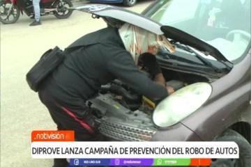 DIPROVE LANZA CAMPAÑA DE PREVENCIÓN CONTRA EL ROBO DE AUTOS