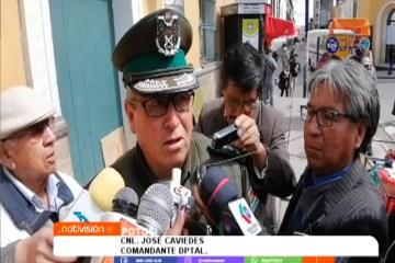 LA POLICÍA COORDINA ACCIONES PARA ATENDER CASOS DE CORONAVIRUS