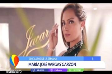 CHICA UNO: MARÍA JOSÉ VARGAS