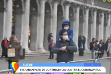 PREPARAN PLAN DE CONTINGENCIA CONTRA EL CORONAVIRUS