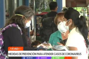 MEDIDAS DE PREVENCIÓN PARA ATENDER CASOS DE CORONAVIRUS