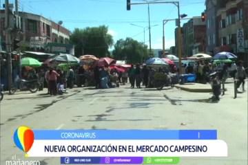 NUEVA ORGANIZACIÓN EN EL MERCADO CAMPESINO
