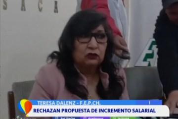 RECHAZAN PROPUESTA DE INCREMENTO SALARIAL